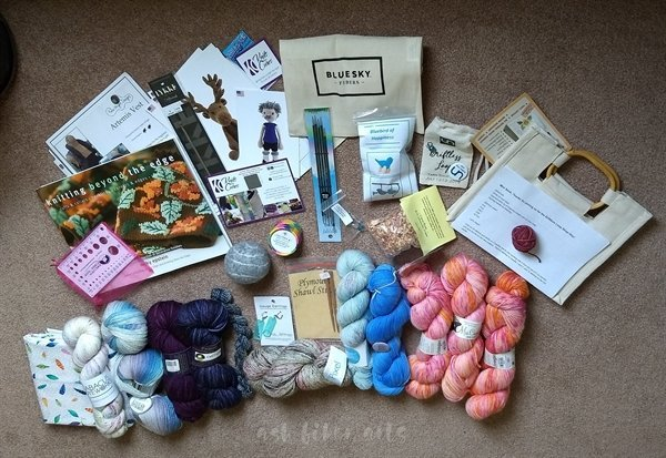 Driftless Loop shop hop purchases 2019 - yarn stash acquisition