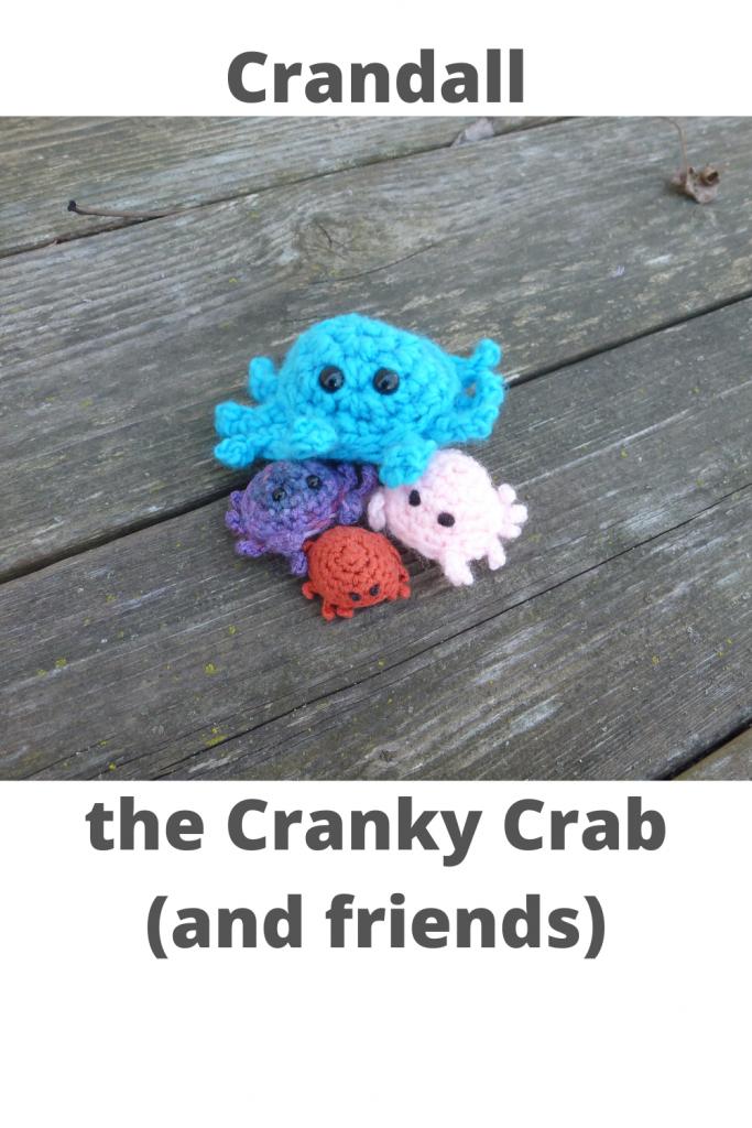 Crandall the Cranky Crab - ASH Fiber Arts