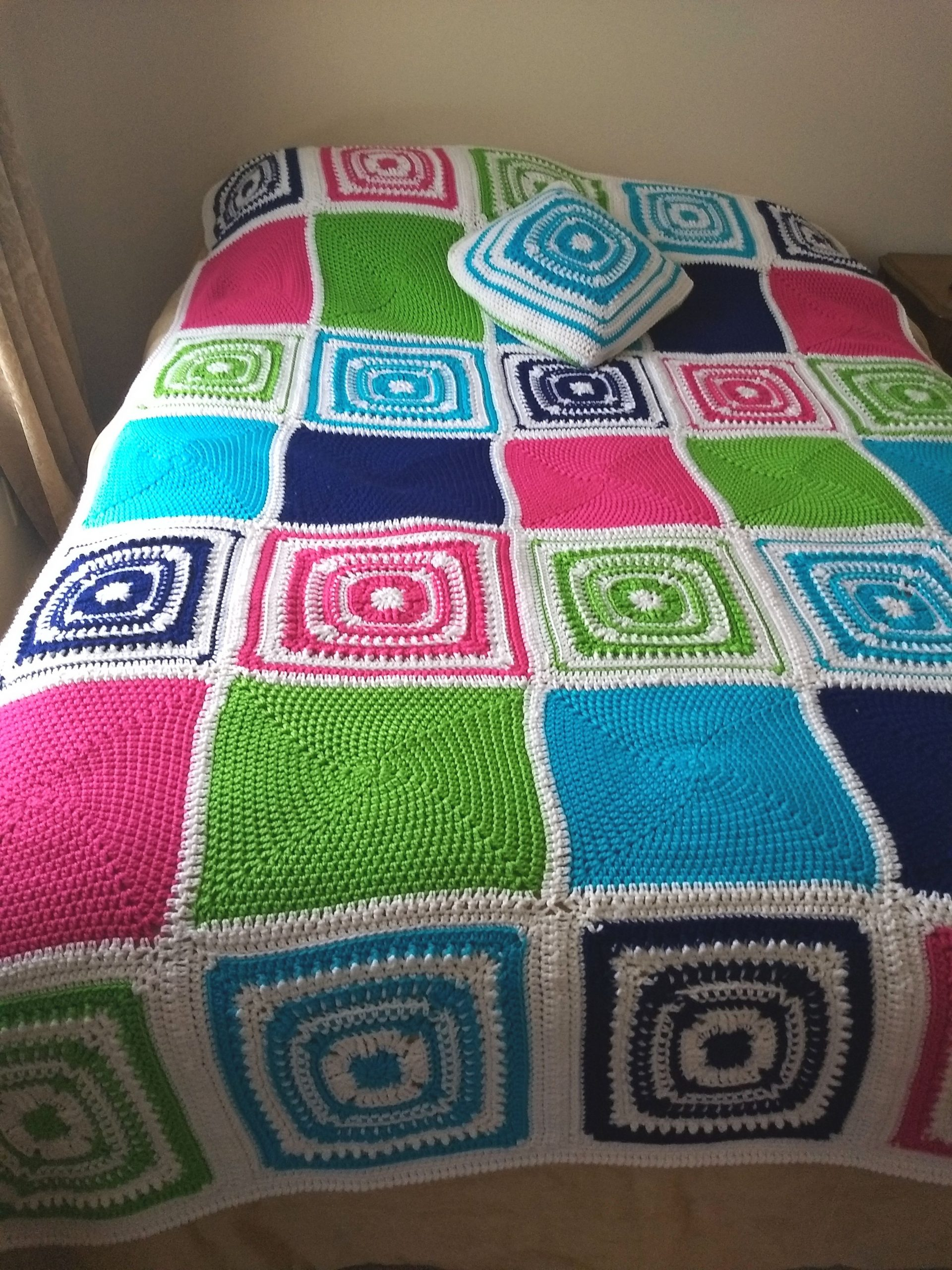 You are currently viewing New pattern release: School Days Afghan