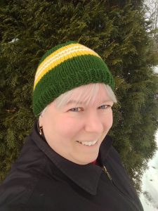 Read more about the article New pattern release: Team Beanie hat pattern