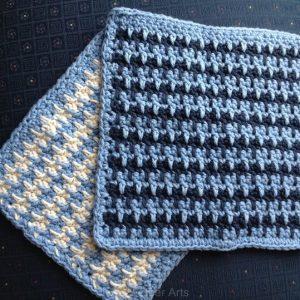 Spike Stripe Washcloth