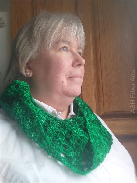 I'm modeling the green/tonal version